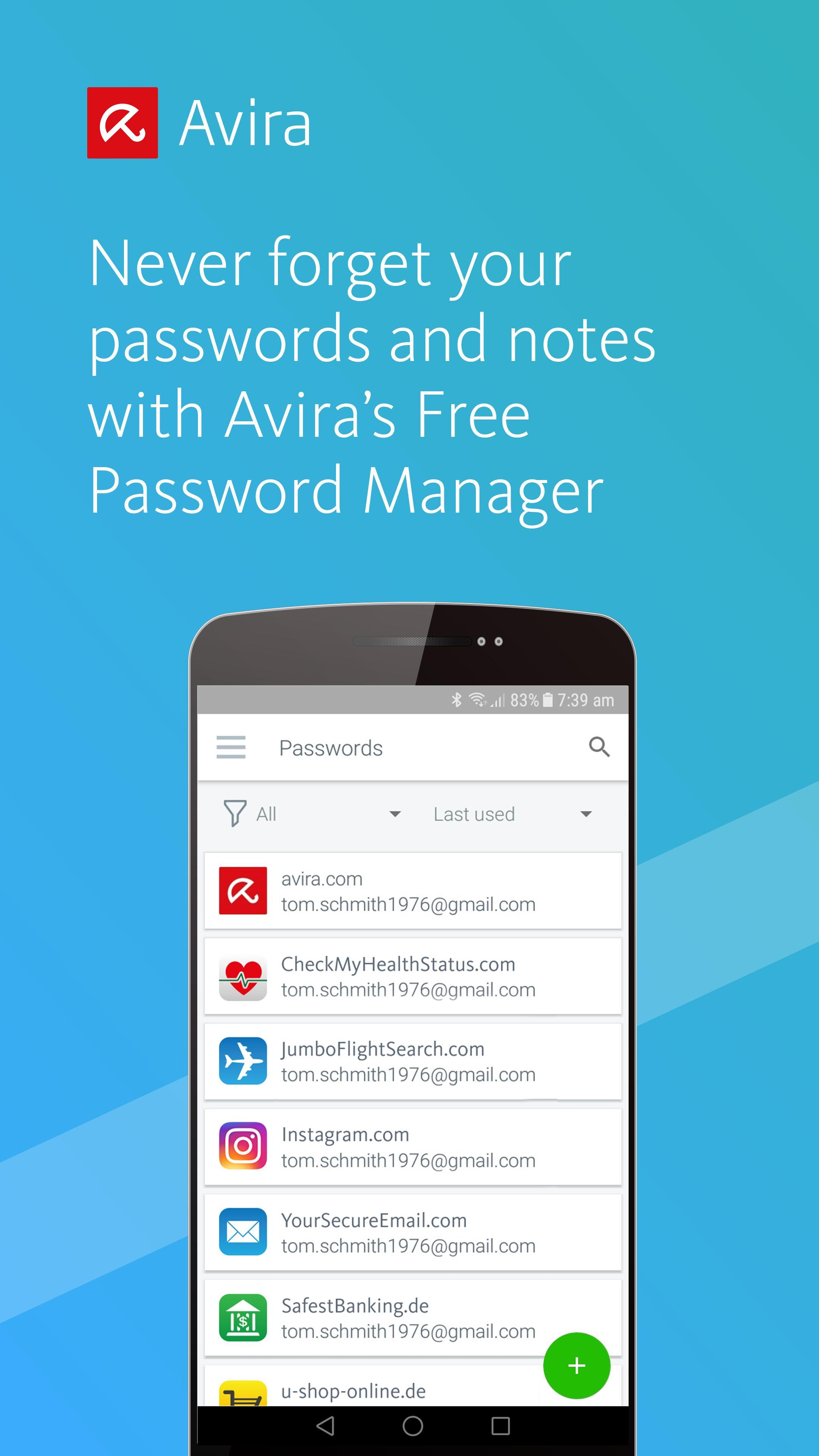 Avira Password Manager for Android - APK Download
