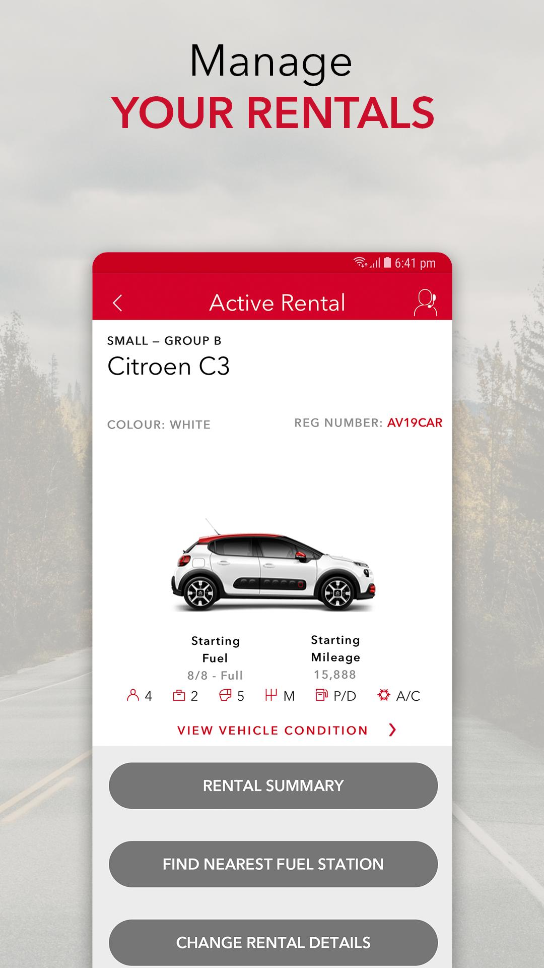 Avis Car Hire For Android Apk Download