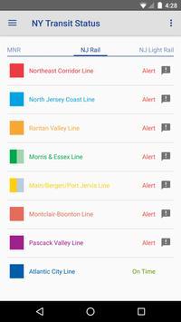 NY Transit Status screenshot 3