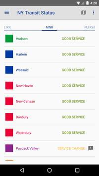 NY Transit Status screenshot 2