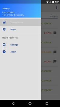 NY Transit Status screenshot 6