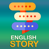 Aprenda inglês por histórias ícone