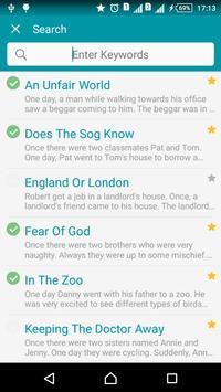 Aprenda inglês por histórias imagem de tela 5