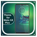 Theme & launcher for Moto G8 plus