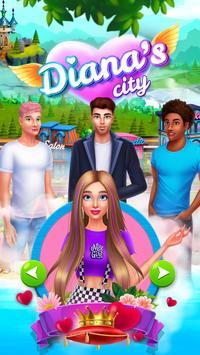 Diana's city постер