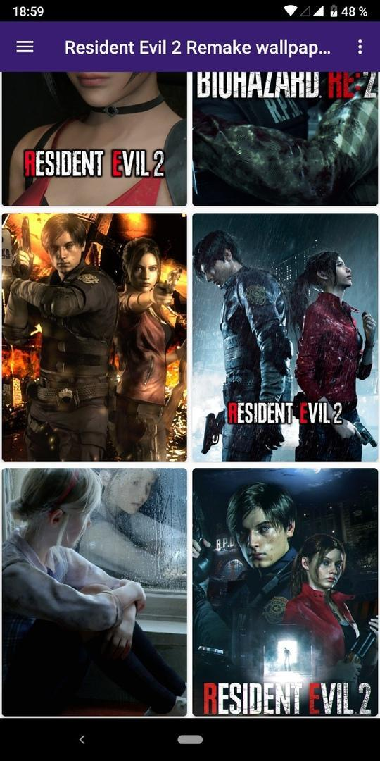 Resident Evil 2 Remake wallpapers for Android - APK Download