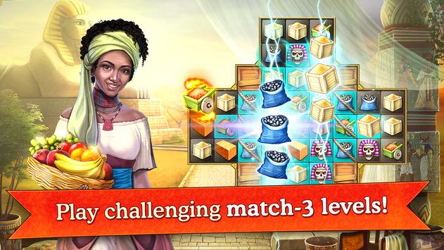 Cradle of Empires Match-3 Game screenshot 16