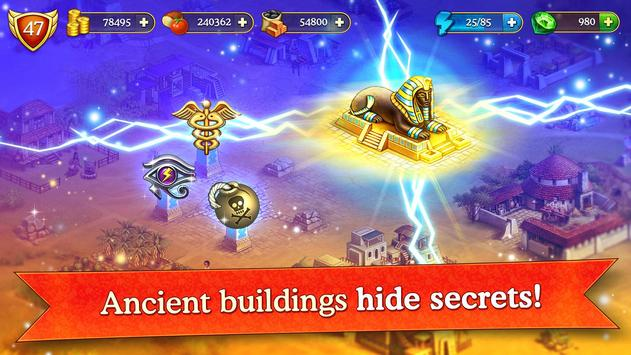 Cradle of Empires Match-3 Game screenshot 11