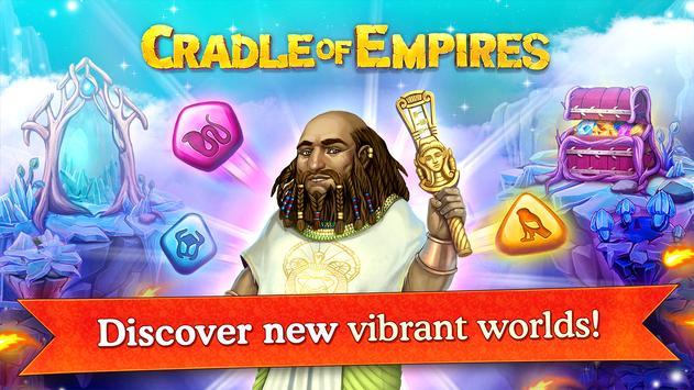 Cradle of Empires Match-3 Game screenshot 7