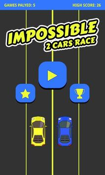 Impossible 2 Cars Race poster