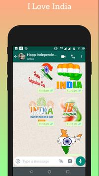 Independence day - 15 August Stickers for Whatsapp screenshot 2