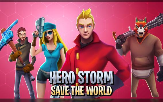 Hero Storm - Save the World screenshot 10