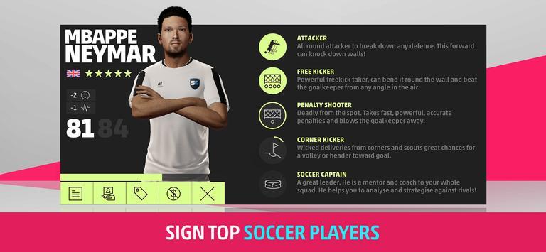 SEASON Pro Football Manager - Football Management screenshot 12