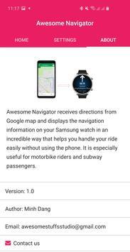 1 Schermata Awesome Navigator
