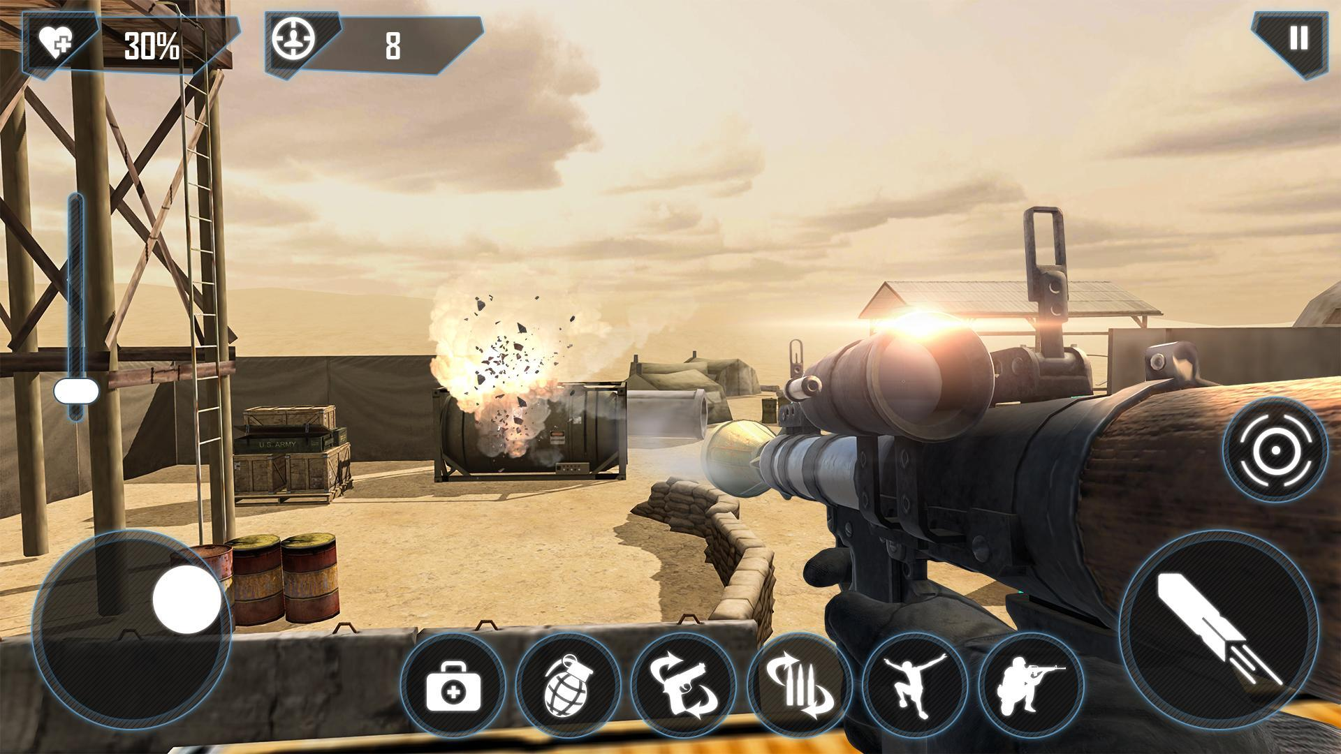 Frontline : Modern Combat Mission for Android - APK Download
