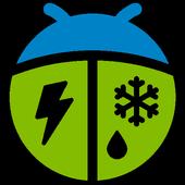 Météo par WeatherBug icône