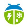 Tempo de WeatherBug ícone