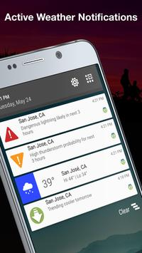Weather by WeatherBug: Real Time Forecast & Alerts screenshot 5