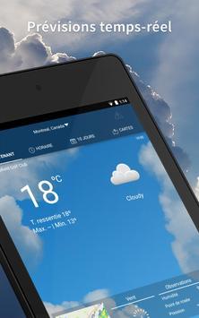 Météo par WeatherBug capture d'écran 8
