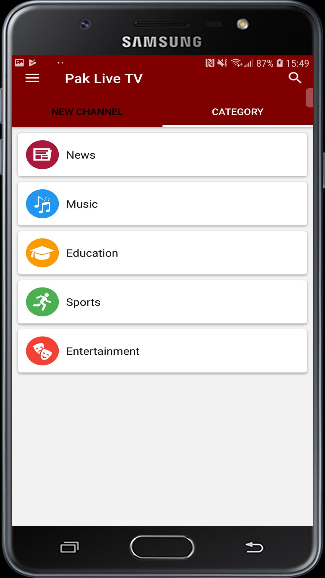 Pak Live Tv: Live TV, News & Sports for Android - APK Download