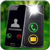 Flash Blinking on Call And SMS : Flashlight 2019 icon