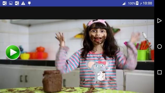 فيديو كليب اغنية شوكولاثه  زينب وحسين بدون انترنت screenshot 5
