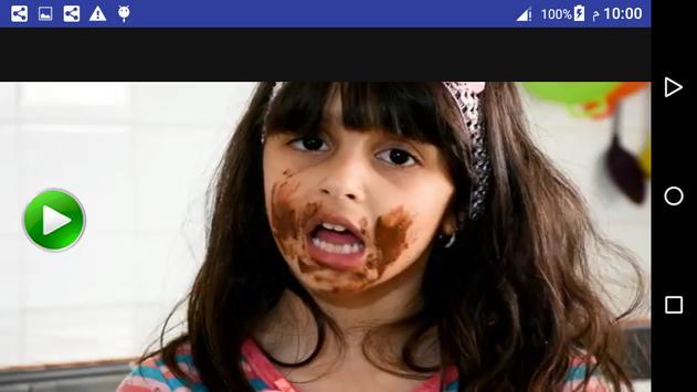فيديو كليب اغنية شوكولاثه  زينب وحسين بدون انترنت screenshot 6