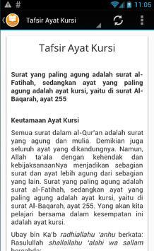Ayat Kursi - MP3 & Terjemahan screenshot 3