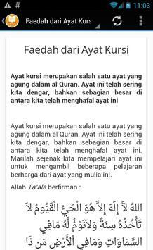 Ayat Kursi - MP3 & Terjemahan screenshot 2