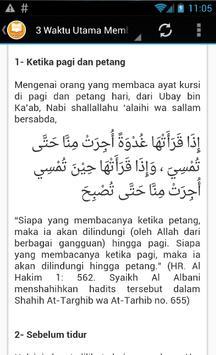 Ayat Kursi - MP3 & Terjemahan screenshot 4