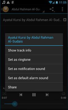 Ayat Kursi - MP3 & Terjemahan screenshot 5