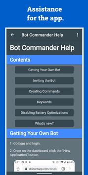 Bot Commander screenshot 3