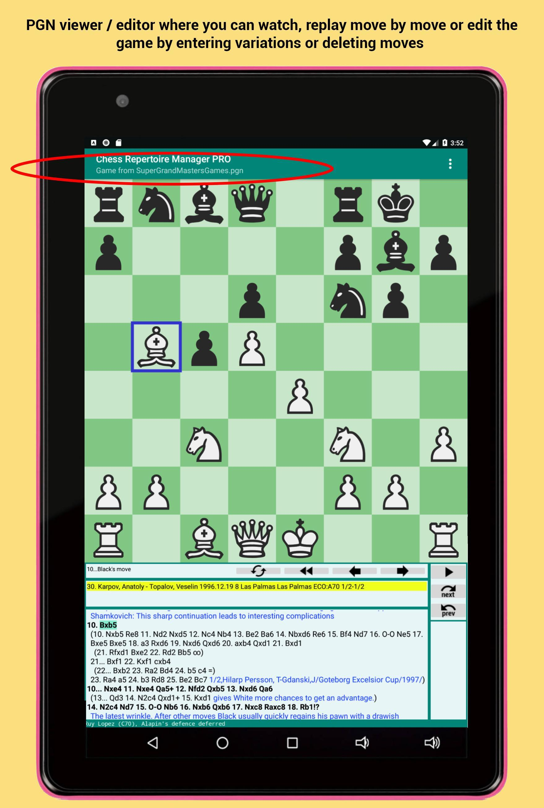 Chess Repertoire Manager PRO - Build, Train & Play for Android - APK  Download