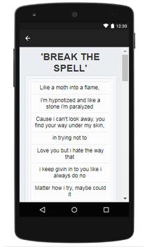 Daughtry Lyrics screenshot 2