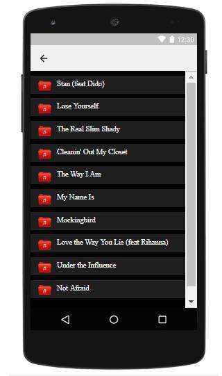 Eminem lyrics for Android - APK Download