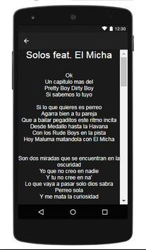 Maluma Letras screenshot 2