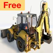 Excavator Simulator Game Free icon