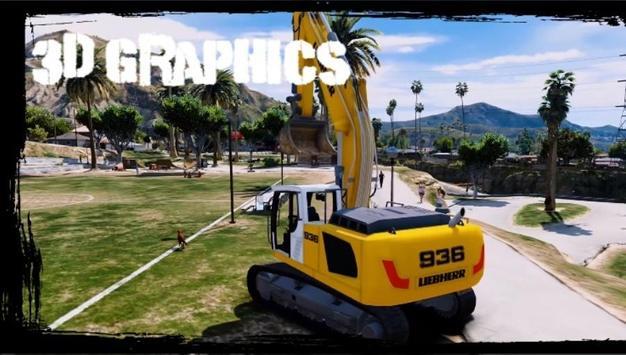 Excavator Simulator Game Free screenshot 2