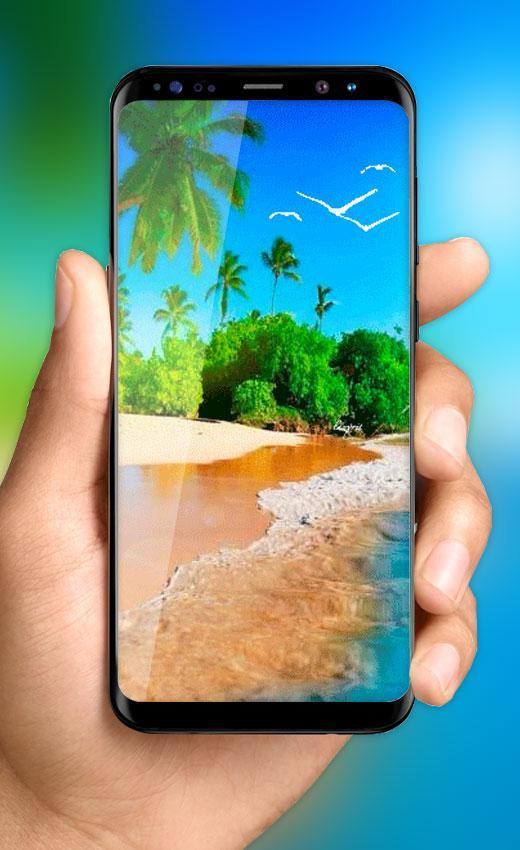 Beach Live Wallpaper Free Tropical Island Themes For Android