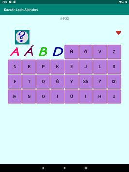 Kazakh Latin alphabet, Qazaq ABC in Latin script screenshot 10