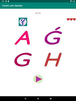 Kazakh Latin alphabet, Qazaq ABC in Latin script screenshot 11