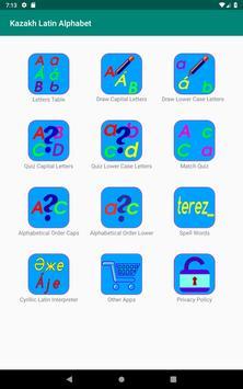 Kazakh Latin alphabet, Qazaq ABC in Latin script screenshot 13