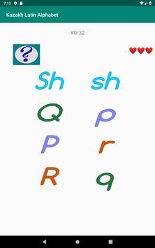 Kazakh Latin alphabet, Qazaq ABC in Latin script screenshot 17