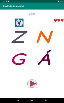 Kazakh Latin alphabet, Qazaq ABC in Latin script screenshot 18