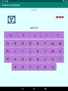 Kazakh Latin alphabet, Qazaq ABC in Latin script screenshot 9