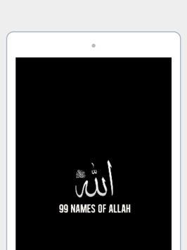 99 noms d'Allah (audio gratuit) (Islam) capture d'écran 11