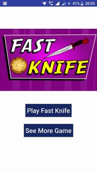 Fast Knife poster