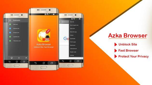 Azka Anti Block Browser - Unblock without VPN poster
