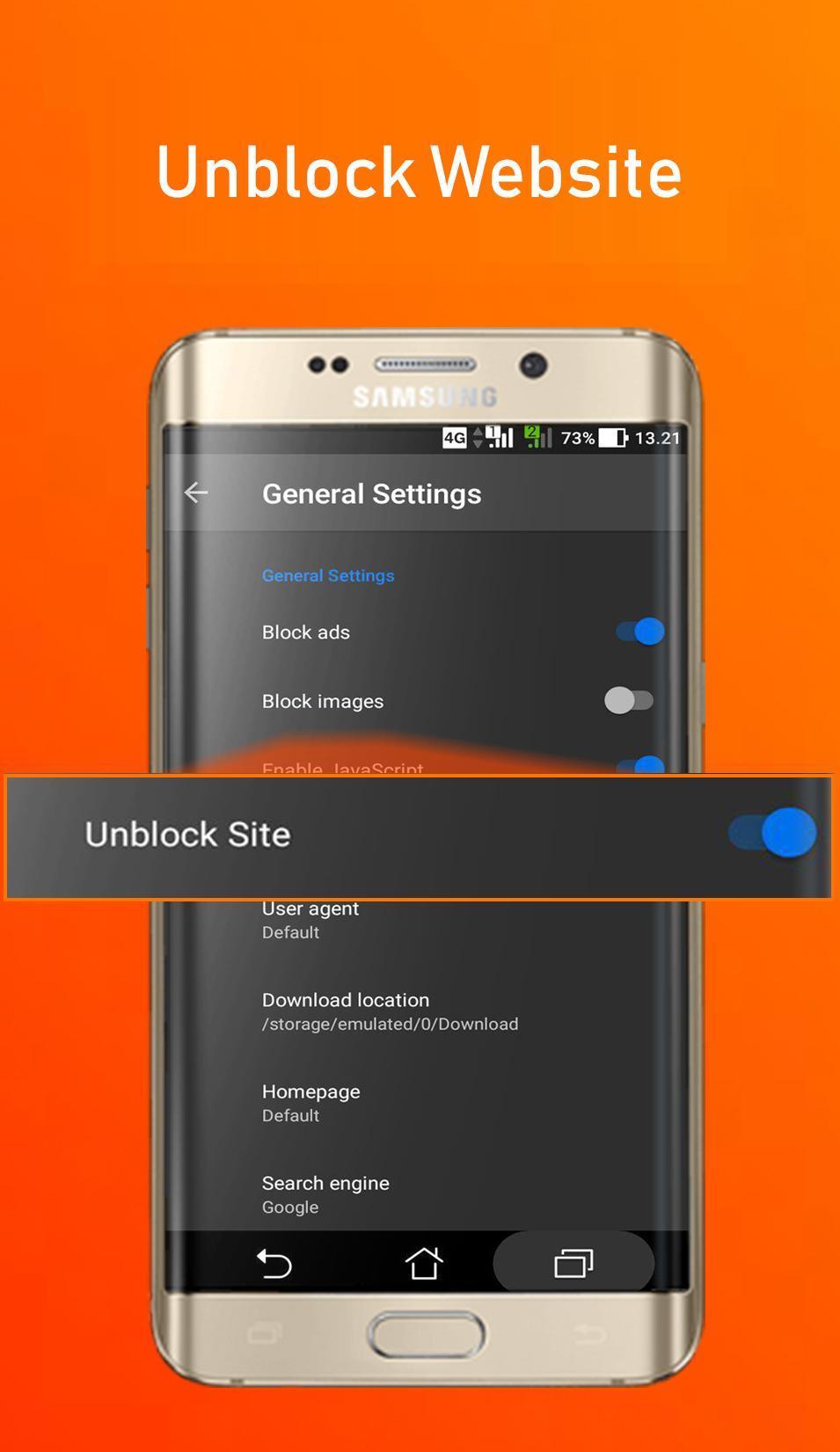 Download aplikasi gratis Azka Anti Block Browser - Unblock without VPN