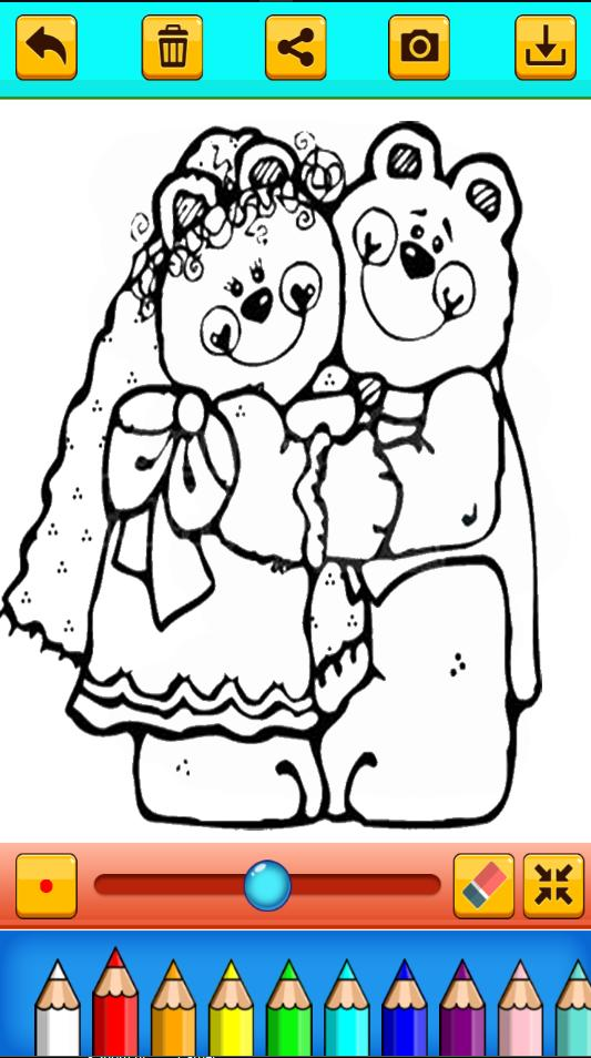 Bride And Groom Coloring Pages For Adult For Android Apk Download